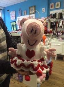 One of our many lovely customers made a Peppa pig
