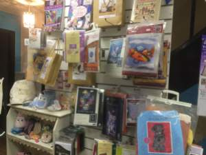 How about a cross stitch kit or one of our needlecraft projects!
