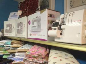 looking for a special gift.....a sewing machine. All our machines are Singer machines come in and see our selection.