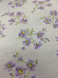 Floral Poly Cotton