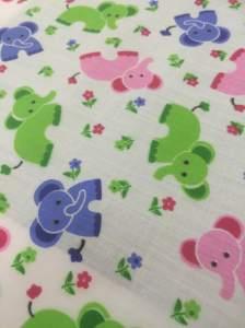 Elephant Poly Cotton