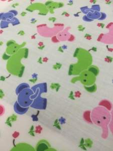 Elephant Poly Cotton