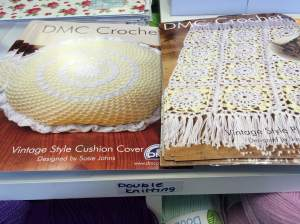 DMC Vintage Sytle Crochet Patterns
