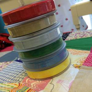 Colurful cotton tapes