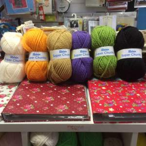 These Shades of Seriously Chunky are back in stock ......perfect for arm knitting