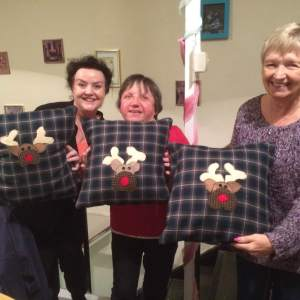The Christmas Applique Cushion Workshop