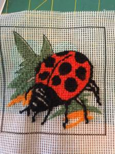 Our 12-16yrs have started their needlepoint pictures