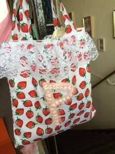 Mia's bag with embellishments