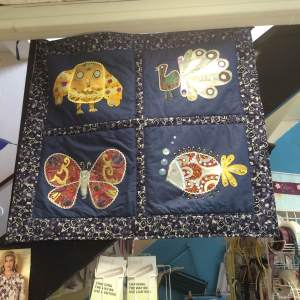 Isn't it great….now hanging proud in the Haberdashery